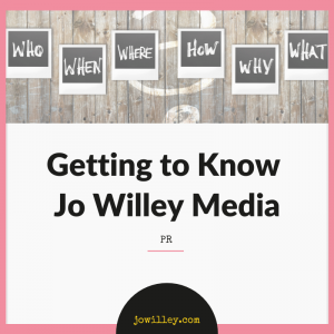 Getting to know Jo Willey